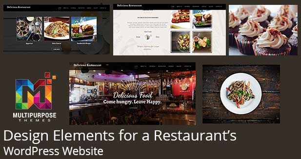 Design Elements For A Restaurant's WordPress Website