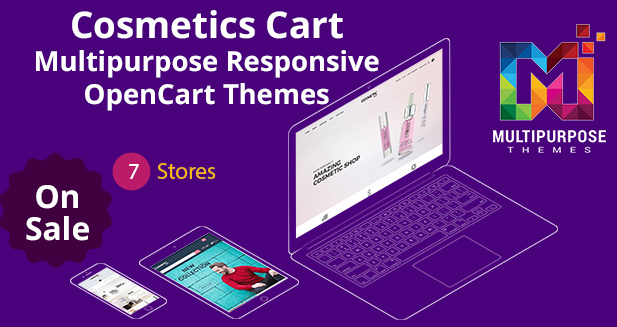 Professional OpenCart Themes For Your Cosmetics Online Store