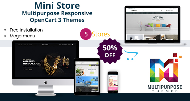 Mini Store – Beautiful Premium OpenCart Themes