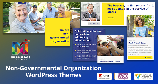 Non Profit WordPress Themes For Outstanding And Professional Website