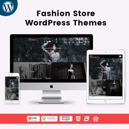 Belleza Fashion Store WordPress Themes