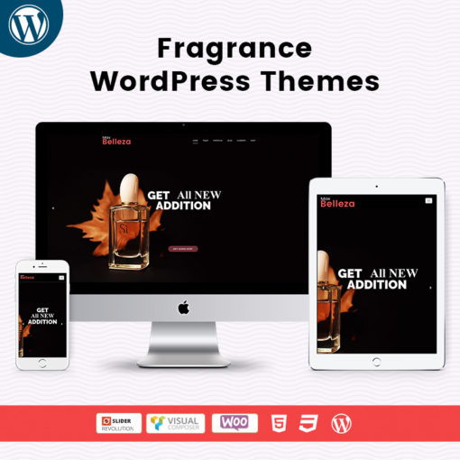 Fragrance WordPress Themes For MultiPurpose