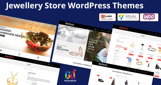 WordPress Themes For Jewellery By MultiPurpose Themes