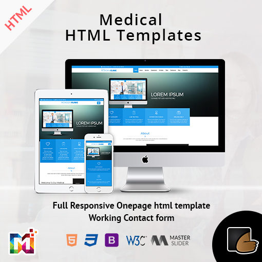 Medical – Responsive Medicare And Health Template