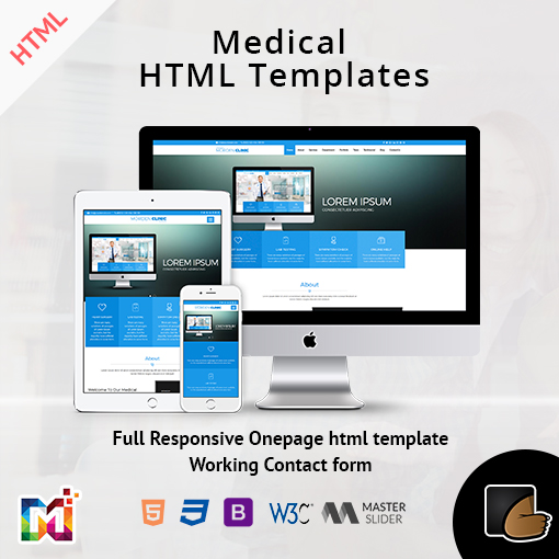 Medical HTML Templates