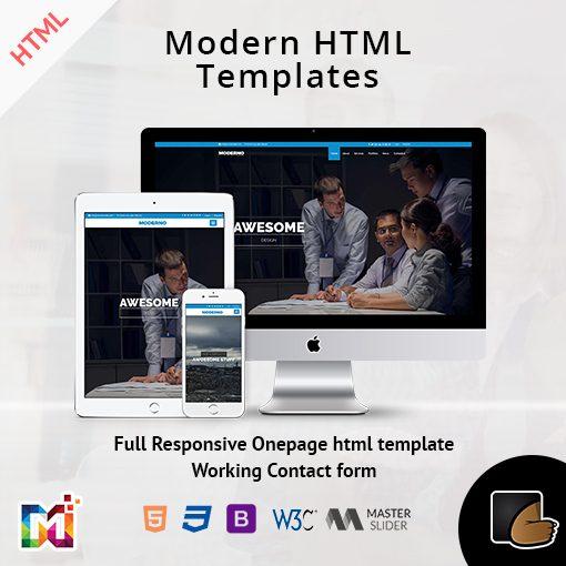 Modern – Responsive Multipurpose HTML Template