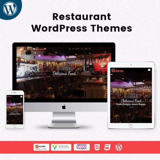 Belleza Restaurant WordPress Themes