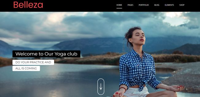 WordPress Themes For Yoga By MultiPurpose Themes