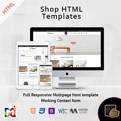 Shop Store – Responsive ECommerce HTML Template