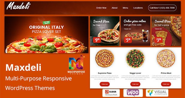 Restaurant Responsive WordPress Themes For 2018