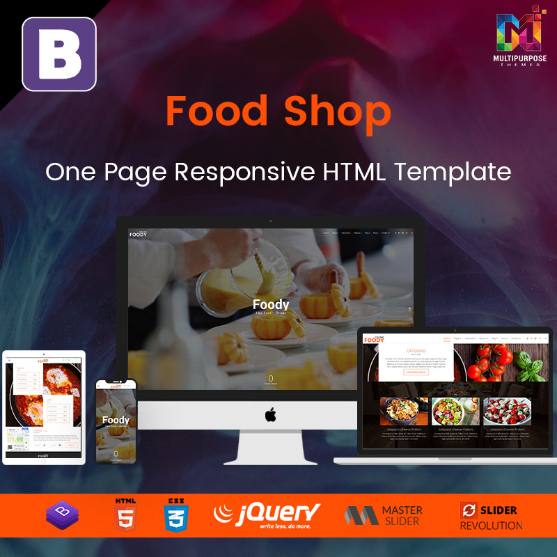 Responsive HTML Template