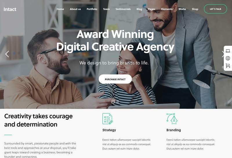 Intact-Creative-Agency-Theme