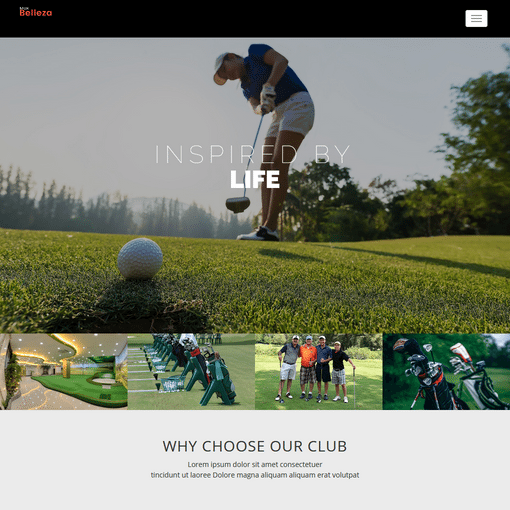 Golf Club Premium WordPress Themes