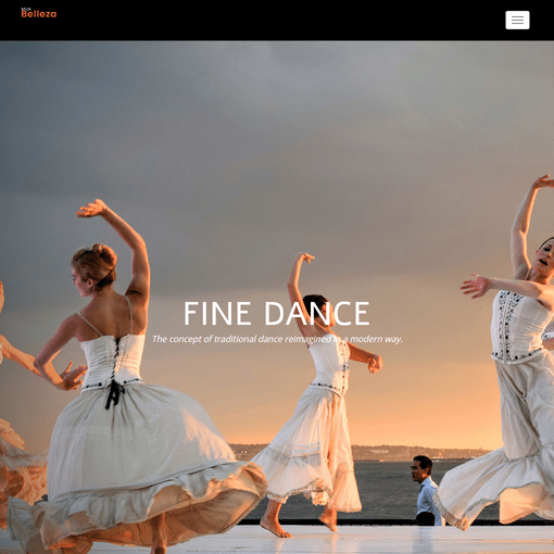 Belleza Divine Dance Premium WordPress Themes