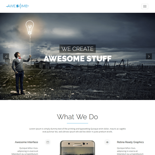 Awesome Responsive WordPress Themes