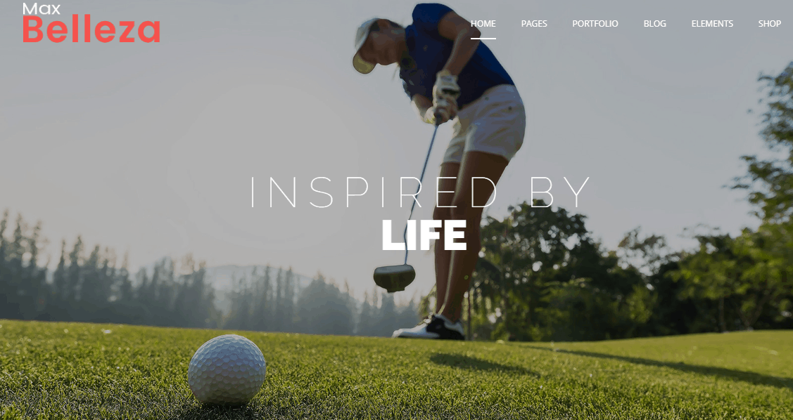 Golf Club Premium Responsive WordPress Themes