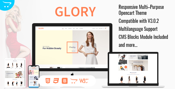 Glory Features Screen.  Large Preview