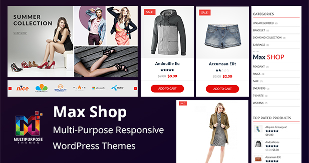 Shopping Cart Responsive WordPress Themes