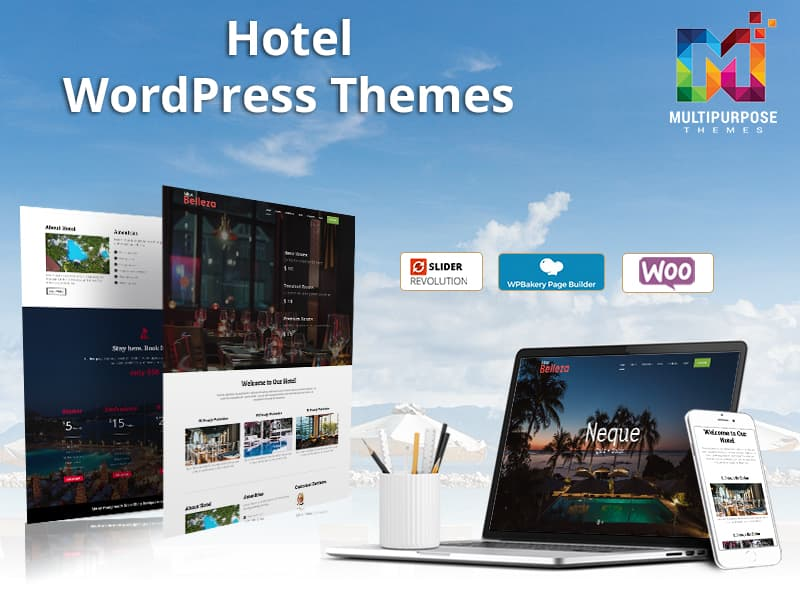 Hotel Responsive WordPress Themes By MultiPurpose Themes