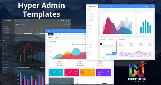 Hyper - Responsive Admin Dashboard Templates