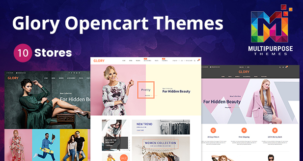 Awesome Glory Premium OpenCart Templates And Themes