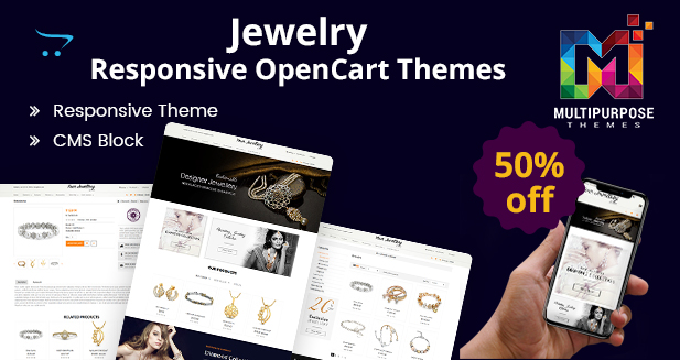 Best Selling Jewelry Premium OpenCart Themes