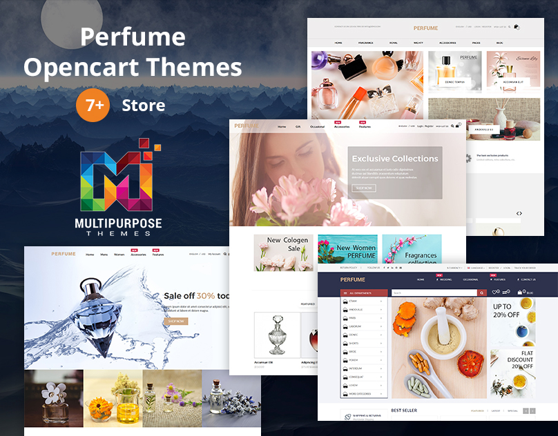 Perfume Store 6 Premium OpenCart Themes By MultiPurpose Themes