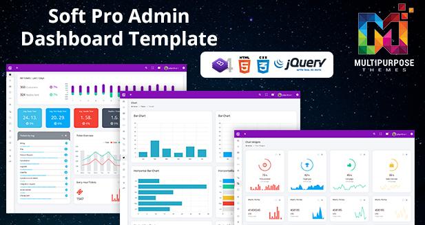 Bootstrap Admin Dashboard Template – Soft Pro Admin