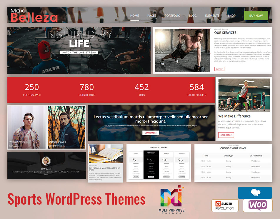 Sports Premium WordPress Themes For Your Business