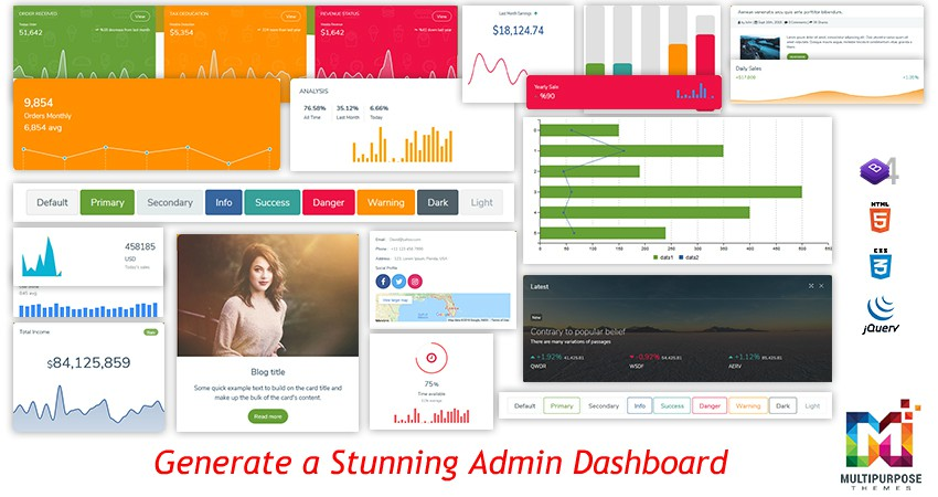 Steps That Will Generate A Stunning Admin Dashboard