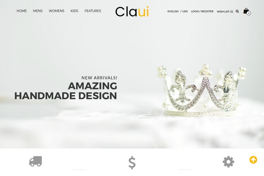 Claui – Premium OpenCart Themes For Shopping Cart Websites