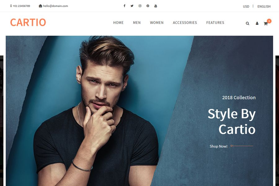 Cartio – Multi-Purpose Responsive  Opencart Theme