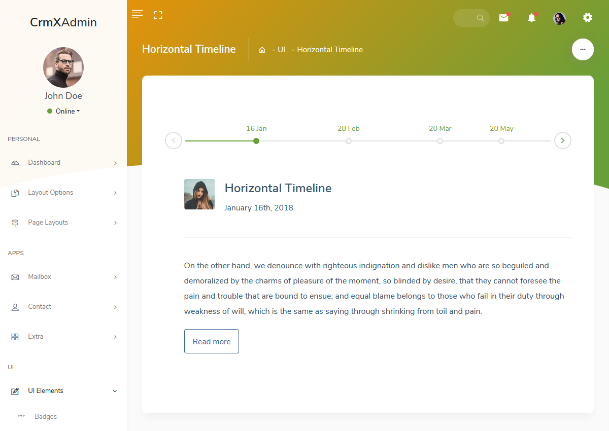 Admin Dashboard Templates