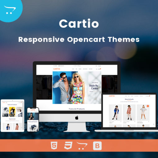 Cartio – Multi-Purpose Opencart Responsive Theme