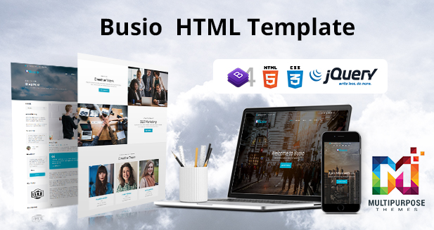Busio – Multipurpose Responsive Html Template