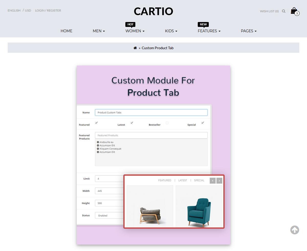 MultiPurpose Responsive OpenCart Template