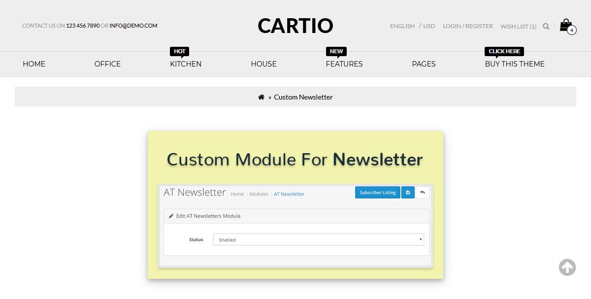 Responsive Opencart Templates