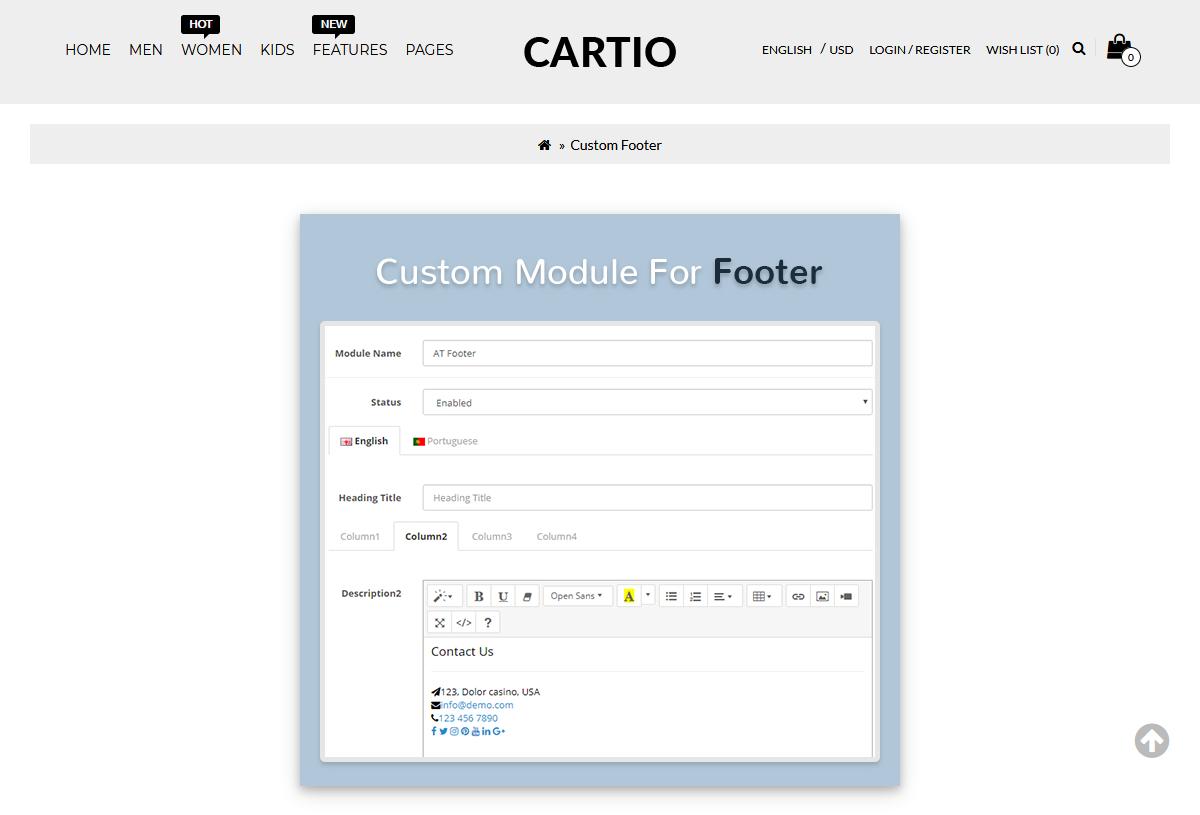 Opencart Multipurpose Theme