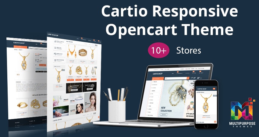 Cartio Jewelry Multi Purpose Premium OpenCart Themes