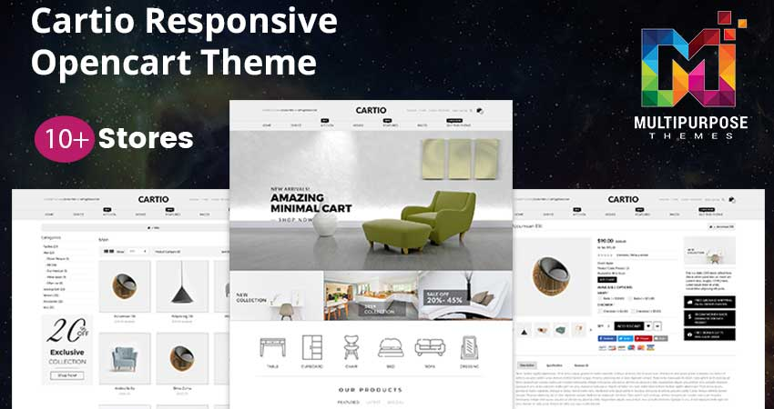 Cartio – Premium  Multi Purpose OpenCart Themes
