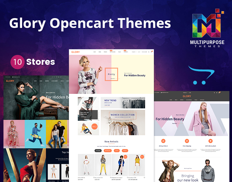 Glory – Multi-Purpose Premium OpenCart Themes