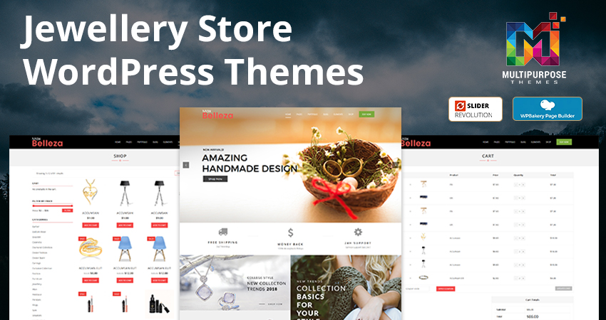 Jewellery Store Premium WordPress Themes