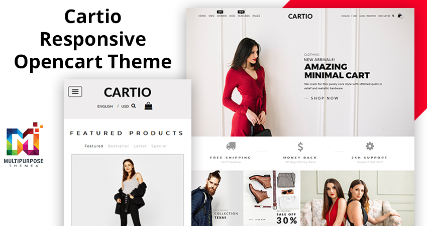 Cartio – Multi Purpose Responsive Opencart Themes