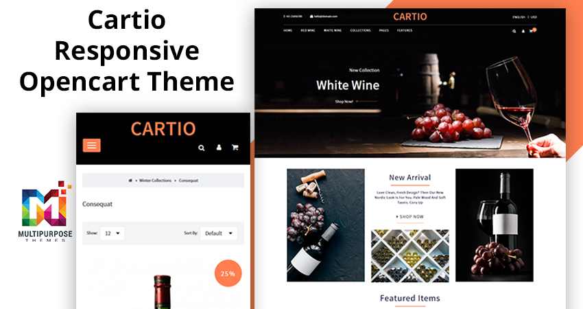 Cartio – Multi-Purpose Responsive Opencart Themes