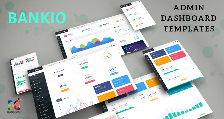Bankio Bootstrap Admin Web App