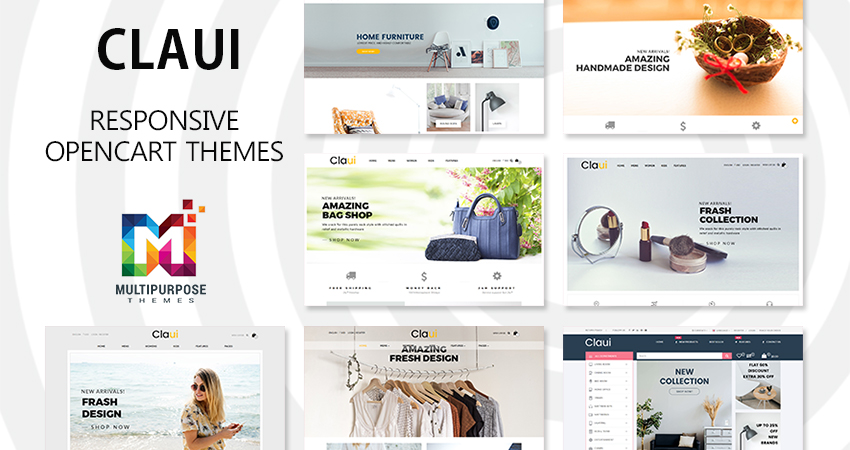 Claui Responsive Fashion Store OpenCart Theme