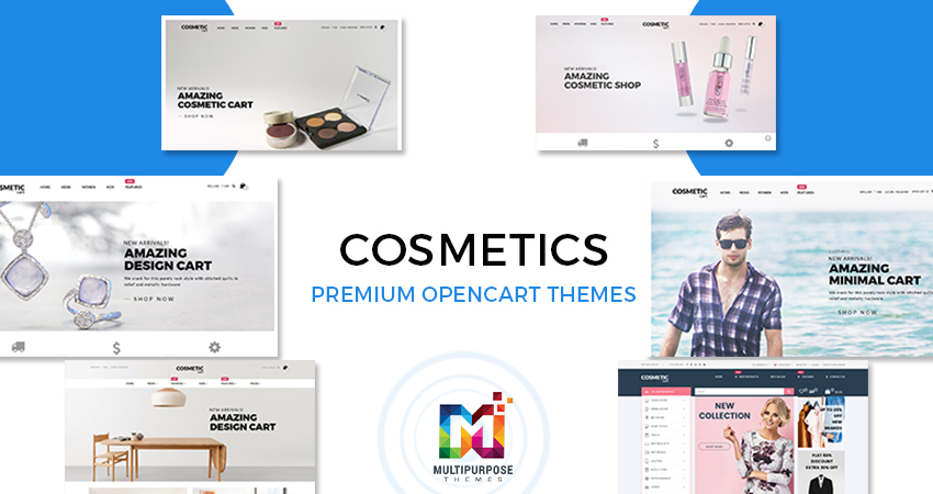 Cosmetics Fashion Store OpenCart Theme By MultiPurpose Themes