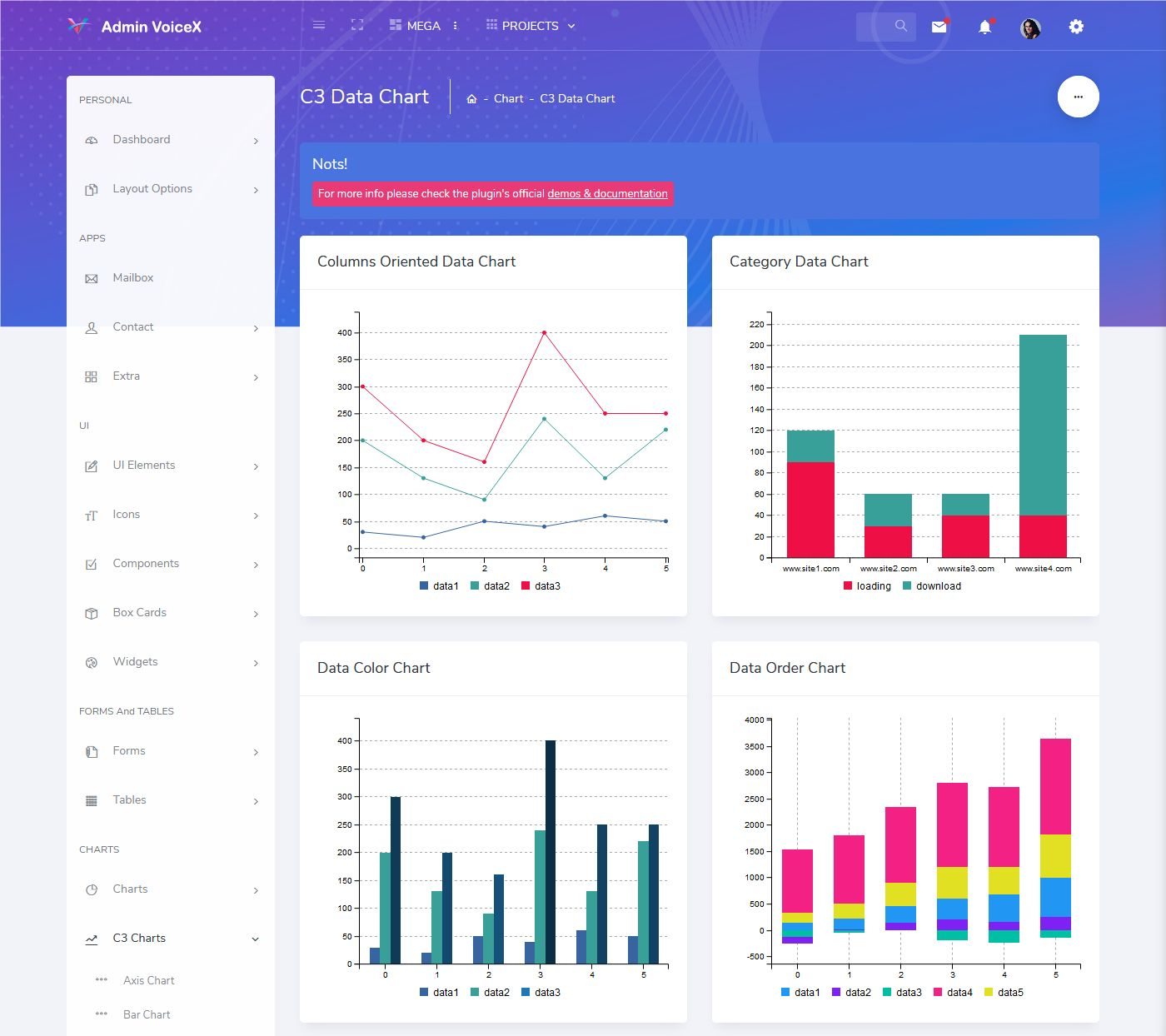 Admin Templates Bootstrap