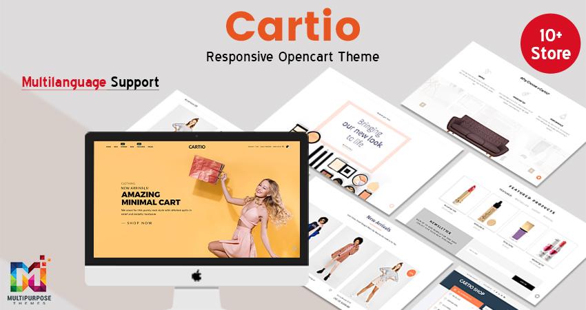 Cartio – MultiPurpose Opencart Responsive Theme