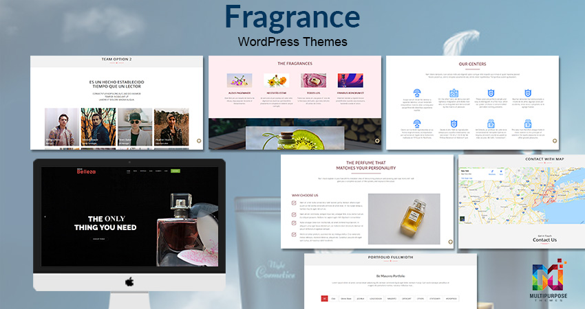 Fragrance Belleza Business WordPress Theme